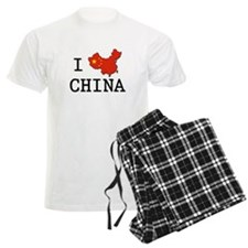 I Heart China Pajamas