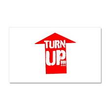 turn up Car Magnet 20 x 12