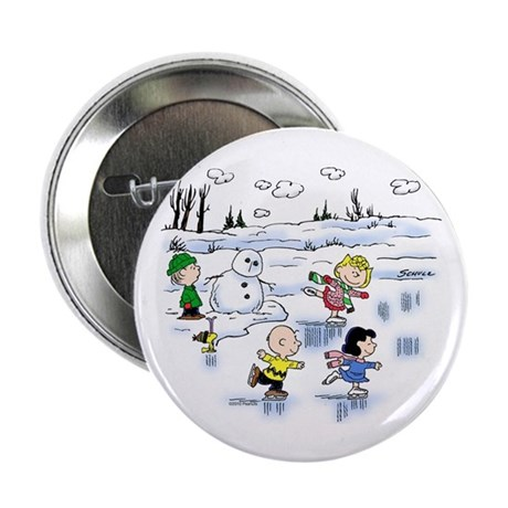 Snow Scene Button