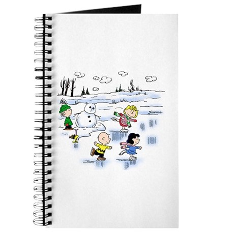 Snow Scene Journal
