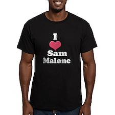 I heart Sam Malone 1 white T-Shirt
