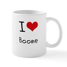I Love Boone Small Mug