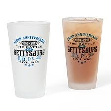 150 Gettysburg Civil War Drinking Glass