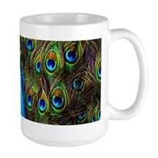 This peacock is watching you! Mug