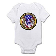 USS Los Angeles SSN 688 Infant Bodysuit