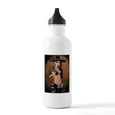 Mariachi Pin-up Art Water Bottle