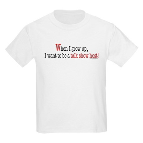 ... a talk show host Kids T-Shirt