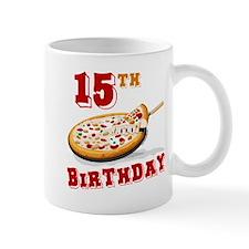 15th Birthday Pizza Party Mug