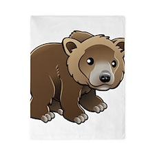 Brown Bear Twin Duvet
