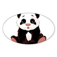 Cute Baby Panda Decal