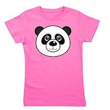 Panda Face Girl's Tee