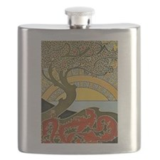 Nouveau Cherry Tree Flask