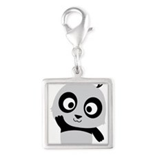 Waving Panda Charms