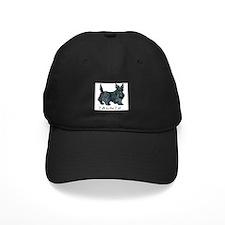 Scottish Terrier Attitude Baseball Hat