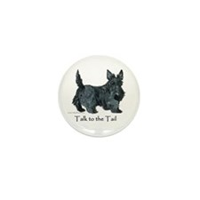 Scottish Terrier Attitude Mini Button (100 pack)