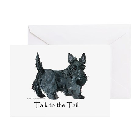 Scottish Terrier Attitude Greeting Cards (Pk of 10
