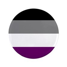Asexual Flag 3.5&Quot; Button