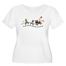 BIRTHDAY TRAIN Plus Size T-Shirt