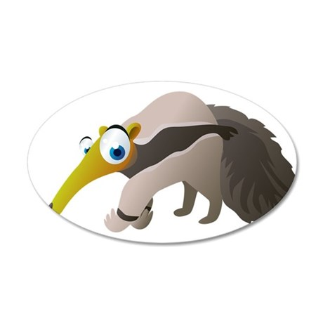 Cartoon Anteater Wall Decal