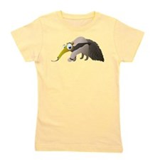 Cartoon Anteater Girl's Tee