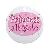 Abigale Ornament (Round)