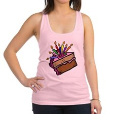 BIRTHDAY CAKE [11] Racerback Tank Top