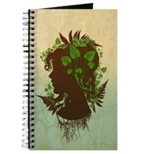 Leaf And Vine Woman Journal