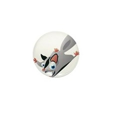 Flying Squirrel Mini Button (10 pack)