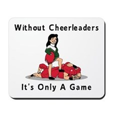 Funny Cheerleader Mousepad