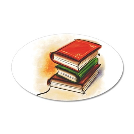 2-33-bookss.GIF Wall Decal