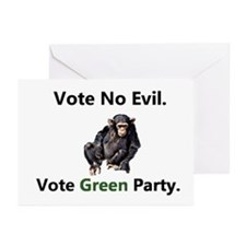 No Evil/Love GP Greeting Cards (Pk of 10)