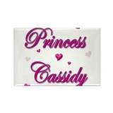 Cute Cassidy Rectangle Magnet