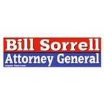 Bill Sorrell Bumper Sticker