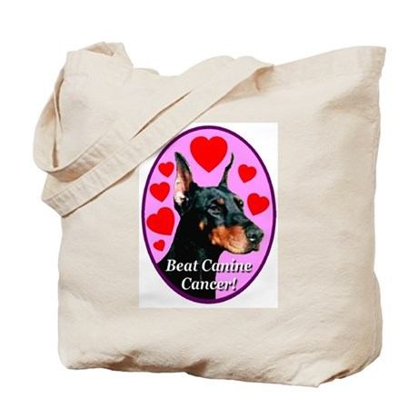 Beat Canine Cancer Tote Bag