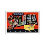 Salina Kansas Greetings Rectangle Magnet (10 pack)