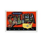 Salina Kansas Greetings Rectangle Magnet