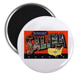 Salina Kansas Greetings Magnet