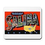 Salina Kansas Greetings Mousepad
