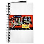Salina Kansas Greetings Journal