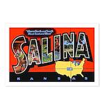Salina Kansas Greetings Postcards (Package of 8)