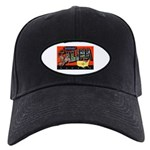 Salina Kansas Greetings Black Cap