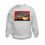 Salina Kansas Greetings (Front) Kids Sweatshirt