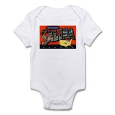 Salina Kansas Greetings Infant Bodysuit