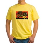 Salina Kansas Greetings Yellow T-Shirt