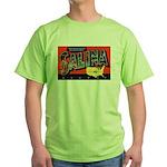 Salina Kansas Greetings Green T-Shirt