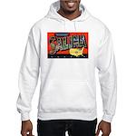 Salina Kansas Greetings (Front) Hooded Sweatshirt