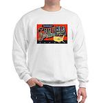 Salina Kansas Greetings (Front) Sweatshirt