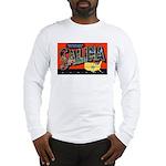 Salina Kansas Greetings (Front) Long Sleeve T-Shir