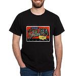 Salina Kansas Greetings (Front) Dark T-Shirt