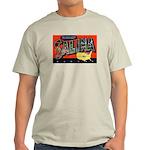 Salina Kansas Greetings Ash Grey T-Shirt